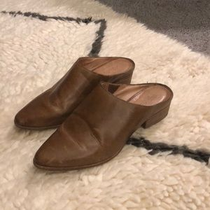 madewell leather mules